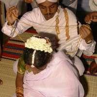wed37 thali being put