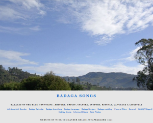 Badaga Songs