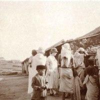 Rev. with badaga women