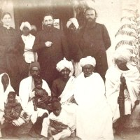 Mr.Lutze with Badagas (Kaiti)-1891