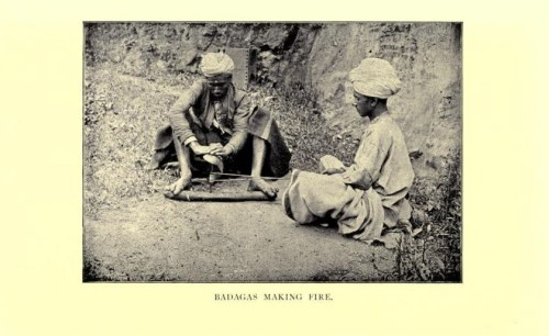 Badagas Making Fire