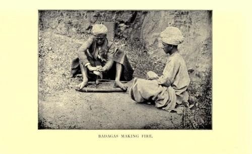 Badagas Making Fire