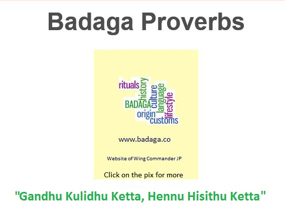 Badaga Dictionary | Badagas of the Blue Mountains