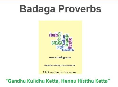 baddu Proverbs