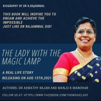 """Book on Dr.Rajamma, """"The Lady With The Magic Lamp"""", being released on 15th Aug"""