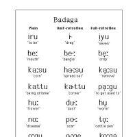 Badaga Language